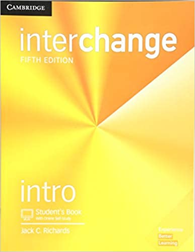 Interchange Intro Student's Book with Online Self-Study 5th Edition