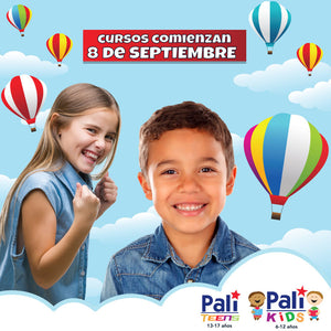 **RE-REGISTRATION** SUMMER SPECIAL FOR SEPTEMBER 2020 - English Group Course -  PALI Kids (6-12) | PALI Teens (13-17)