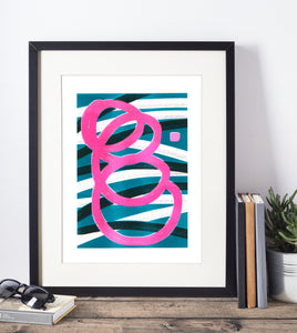 Retro Risograph Prints - Affordable and Groovy Art for the Home