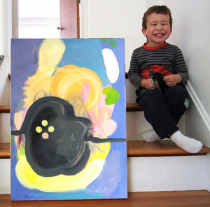 Art Or A Kid: Learn To Spot The Difference.