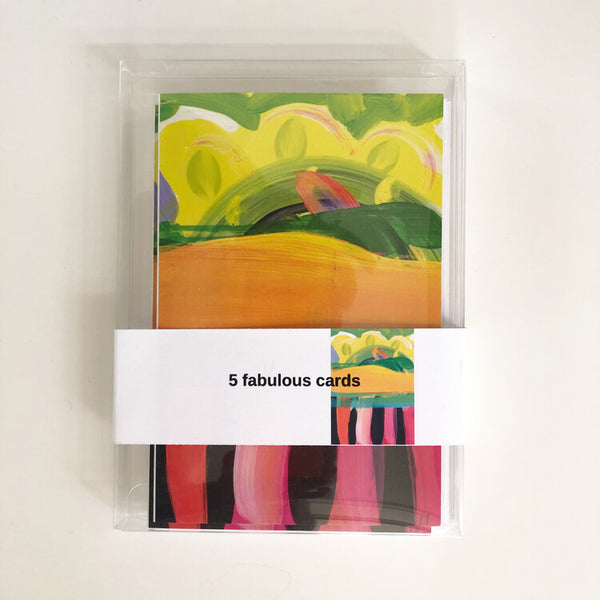 Tropical Sunrise Blank Notecards, Box of 5