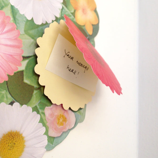 Flower Message Board