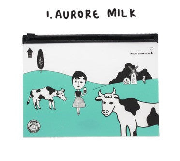 Oohlala Aurore Milk Clear Pouch
