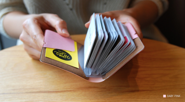 Plepic Colorful Extra Card Book