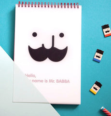 Mr. Babba Ring Notebook