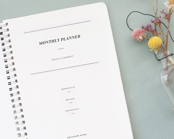 Becoming Monthly Planner