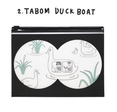 Oohlala Tabom Duck Boat Clear Pouch