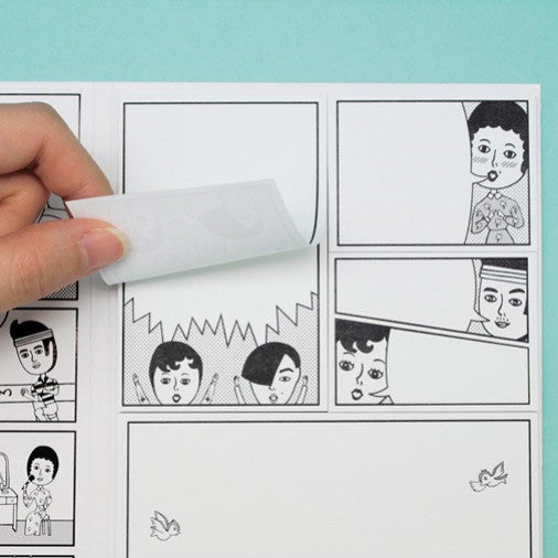 Comics Sticky Note Ver.5