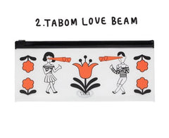 Oohlala Tabom Love Beam Clear Long Pouch