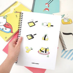 Waru Waru Double Wired Notebook