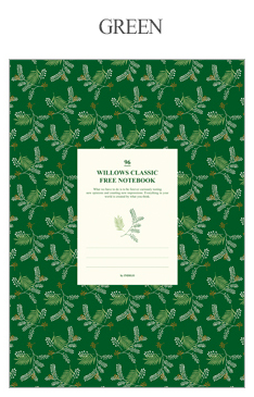 Willow Classic Lined Notebook