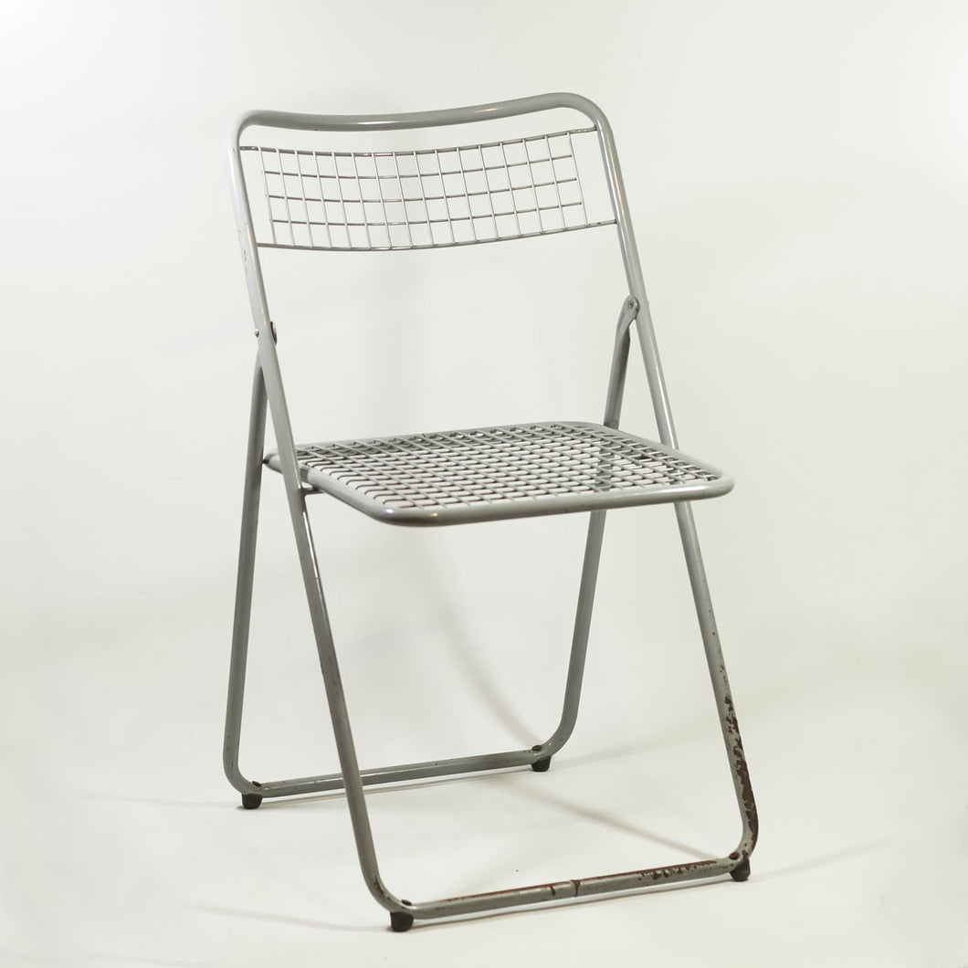 Chair 085 Federico Giner in 1970s. Grey.
