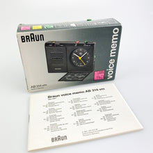 Load image into Gallery viewer, Wake-up Braun AB 314 vm design by Dietrich Lubs, 1995.