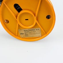 Load image into Gallery viewer, Braun KSM2 grinder designed by Hartwig Kahlcke in 1979. Yellow