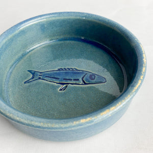 Pair of ceramic bowls, fishes. 1970's