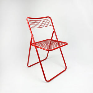 Chair 085 manufactured by Federico Giner, 1970s. Red.