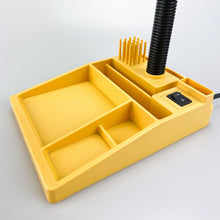 Load image into Gallery viewer, Desk lamp with pencil holder, 1980s