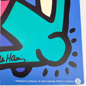 Keith Haring's Untitle Painting, 1986. Printed by TeNeues for Ikea, 2004.