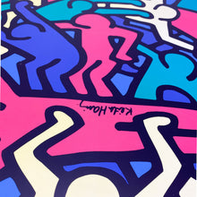 Load image into Gallery viewer, Keith Haring's Untitle Painting, 1986. Printed by TeNeues for Ikea, 2004.