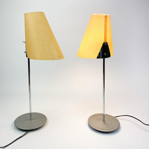 Pair of Lector S table lamps, designed by Lluís Porqueras for Marset in 1990.