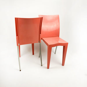 Pair of Miss Global Chairs designed by Philippe Starck for Kartell, 1993.