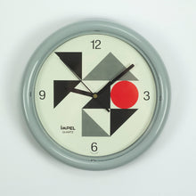 Load image into Gallery viewer, Impel Wall Clock, Japan Design, 1980's Memphis Style.