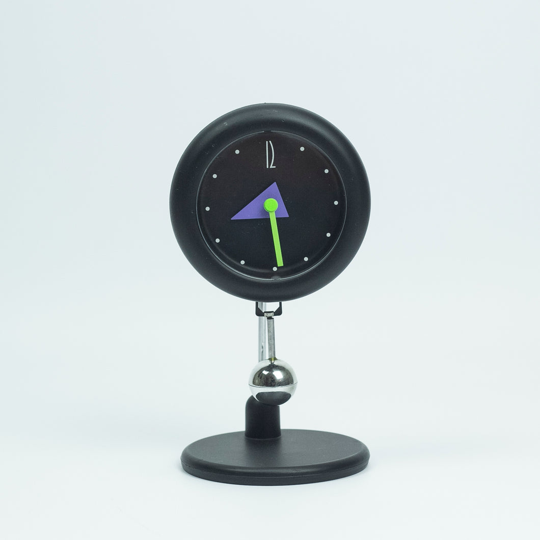 Table Clock with Pendulum Mamphis Style.