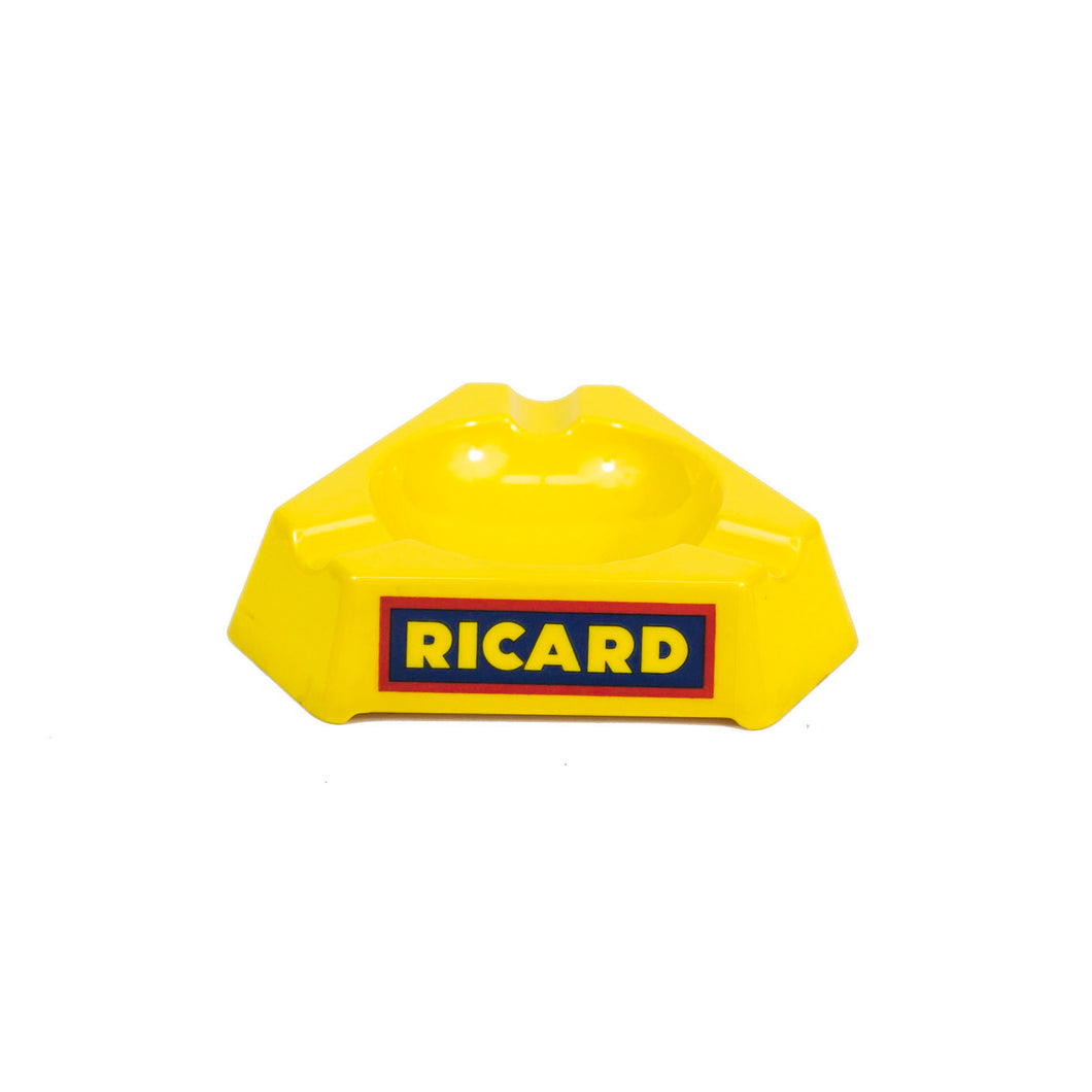Ricard Advertising Ashtray. Manufactured by Duroplast.