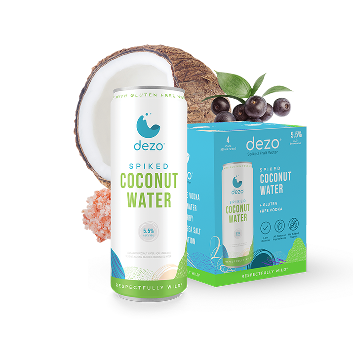 Spiked Coconut Water