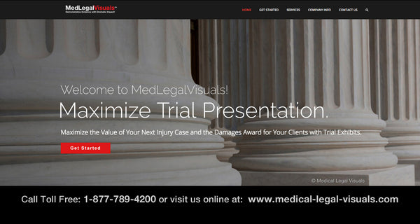 Medical Legal Visuals- Trial Presentation for Injury Cases