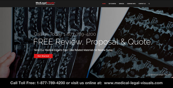 Medical Legal Illustration - FREE Case Review and Quote by our medical experts at Medical Legal Visuals