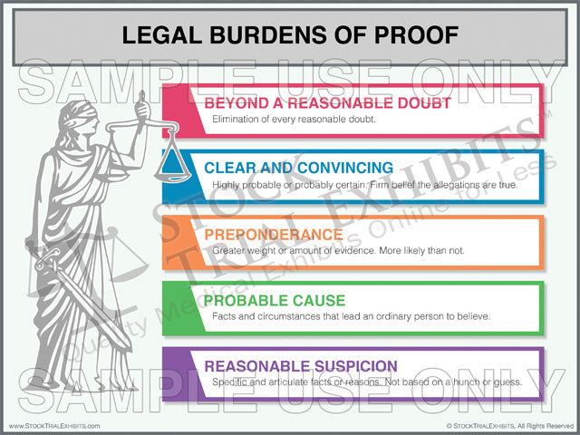 Legal Burdens of Proof