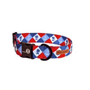 Dublin Dog Americana Dockside Eco Lucks Dog Collar