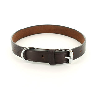 Moorland Leather Dog Collar