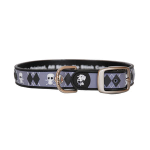Dublin Dog All Style No Stink Waterproof Dog Collar Argyle Confession