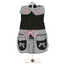 Load image into Gallery viewer, Urbanpup Black Gingham Dress
