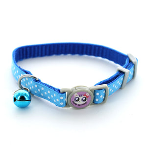 Polka Dot Safe Cat Collar