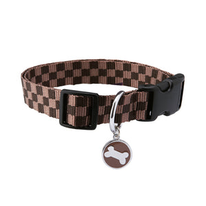 Bobby Chequerboard Collar