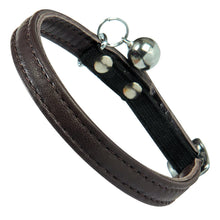 Load image into Gallery viewer, Bobby Escapade Leather Cat Collar