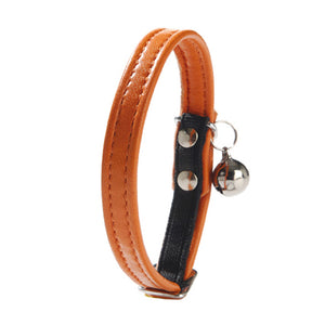 Bobby Escapade Leather Cat Collar