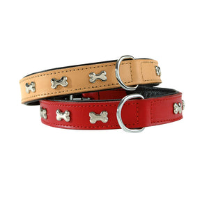 Bobby Bones Extra Supple Leather Dog Collar