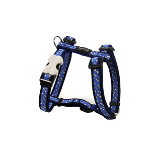 Red Dingo Flying Bones Dog Harness