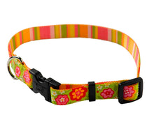 Load image into Gallery viewer, Yellow Dog Design Green Bouquet Standard Collar