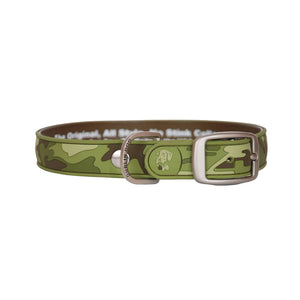 Dublin Dog All Style No Stink Waterproof Dog Collar Camo Couture Desert Cactus
