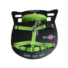 Load image into Gallery viewer, Bobby Cat Harness with Safe Lead