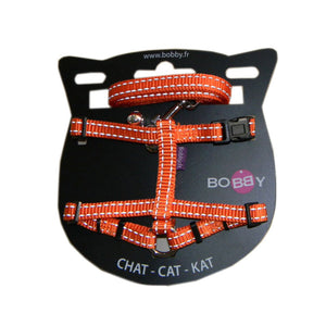 Bobby Cat Harness with Safe Lead