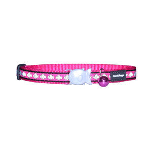 Red Dingo Reflective Cat Collar