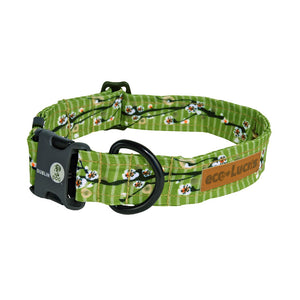 Dublin Dog Cherry Blossom Egg Roll Eco Lucks Dog Collar