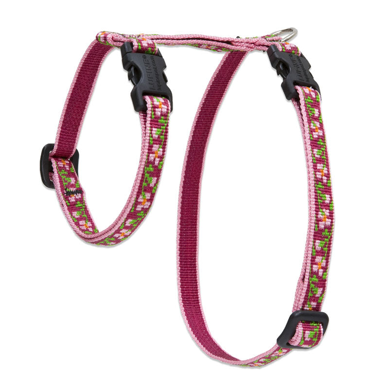 Cherry Blossom H-Style Cat Harness