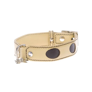Hamish McBeth Leather Chester Dog Collar